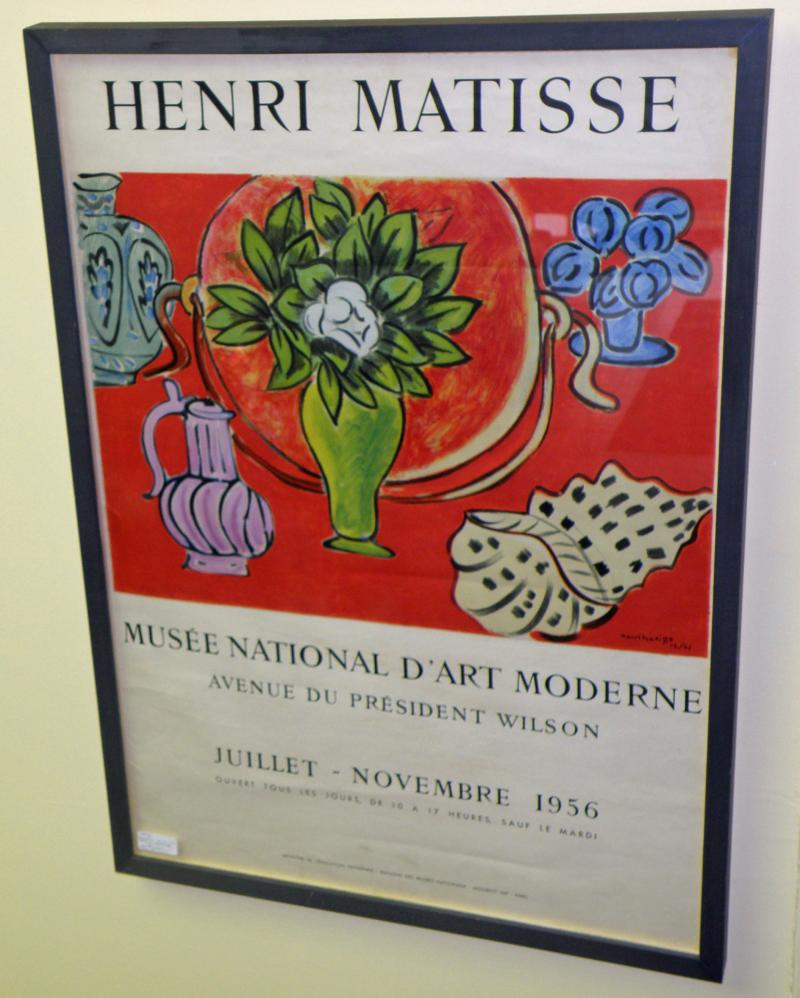 1956 Poster Exhibit, Henri Mattise