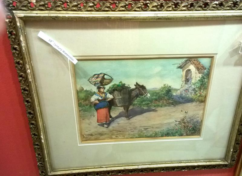 19th Century Watercolor