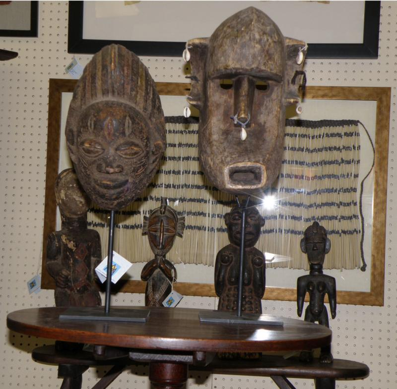 African Masks and Figures