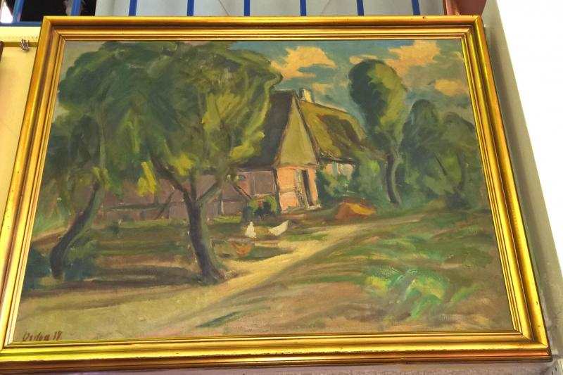American Impressionist Landscape. Signed and dated 1934