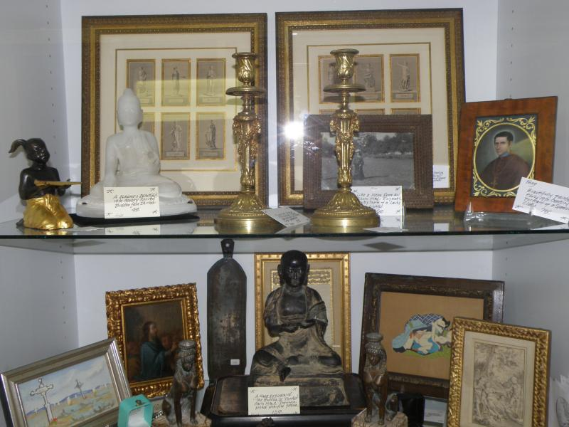 Buddhas from Japan, early 19th C,  and Burma