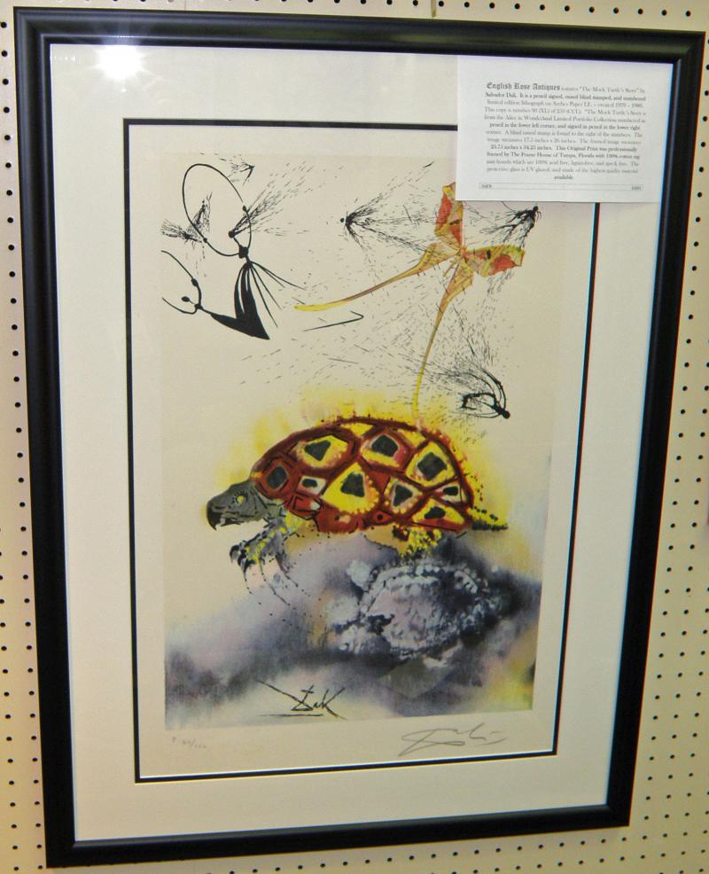 Salvador Dali, The Mock Turtle Story