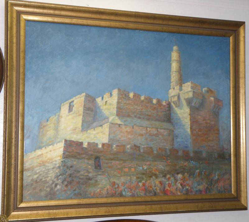 Fortress and Crusaders, signed original