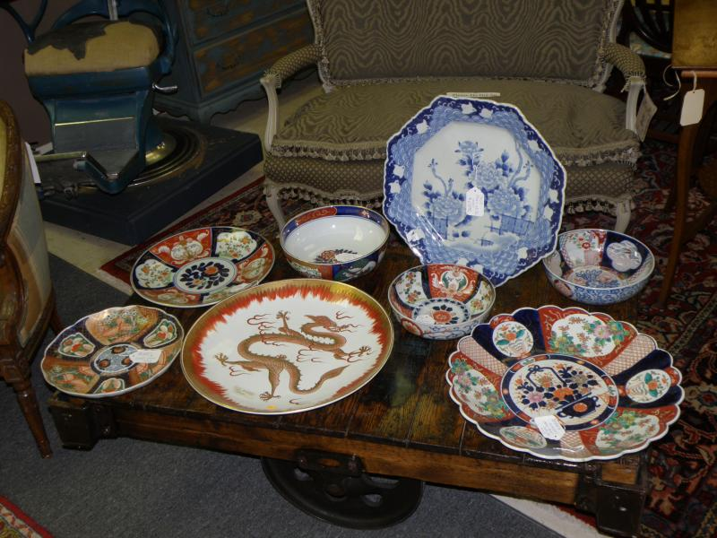 Imari Charger and Bowl Collection