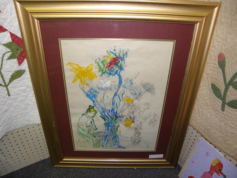 Painting signed Theresa Bernstein  1993