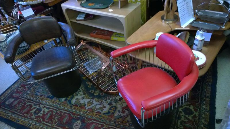Pair Retro Chairs