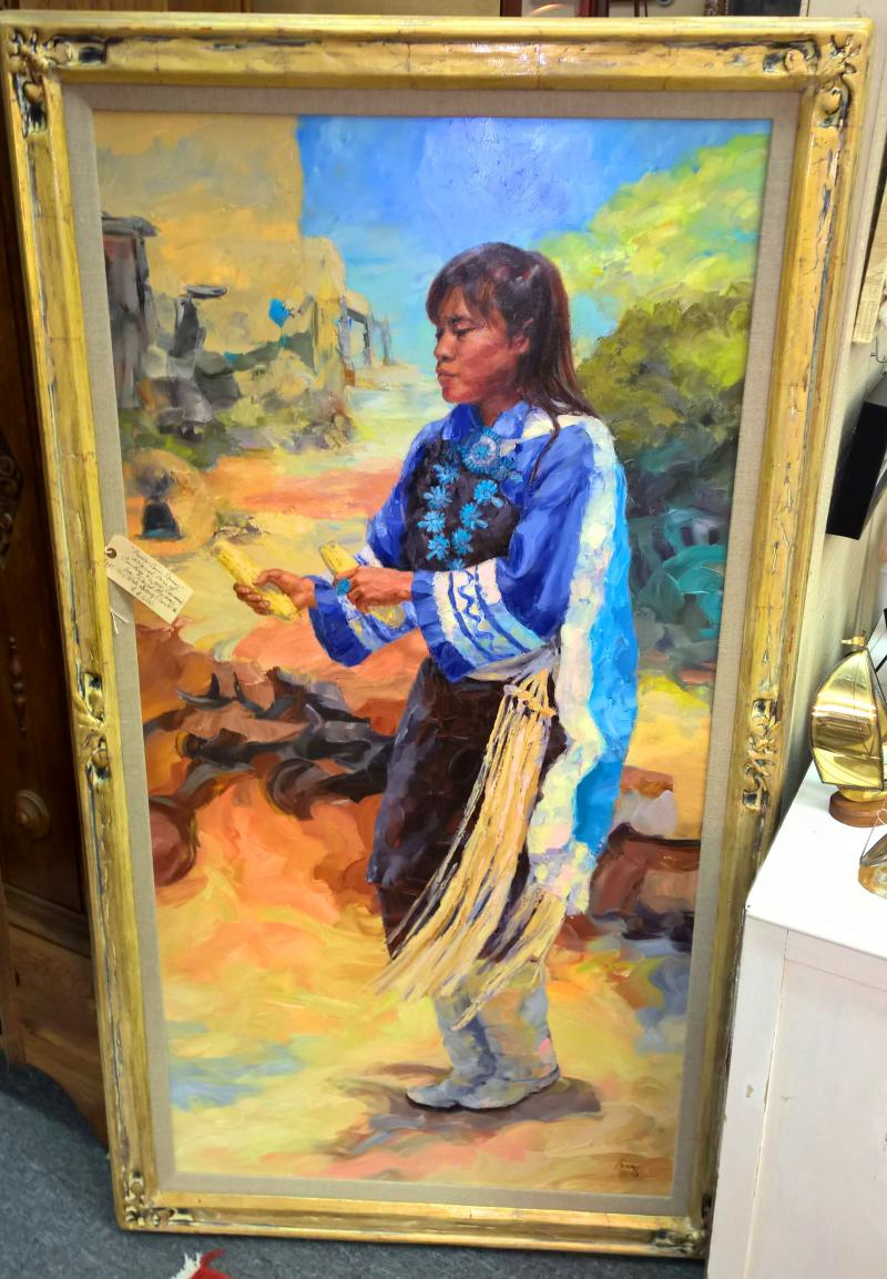'Pueblo Corn Dancer'