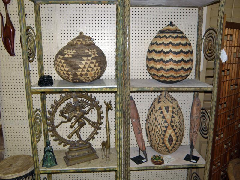 Southern Africa hand made Traditional Zulu Baskets