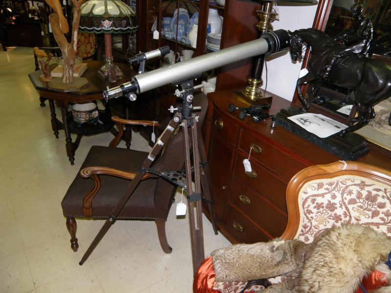 Telescope with lots of lenses
